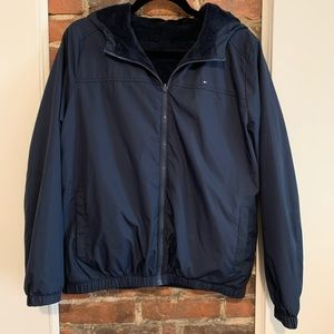 Tommy Hilfiger Reversible Jacket - Medium - Navy
